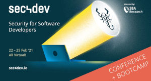 sec4dev – the security Conference & Bootcamp for developers